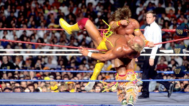 Ultimate Warrior Vs Hulk Hogan Part 3
